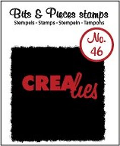 Crealies Clearstamp Bits&Pieces no. 46
