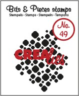 Crealies Clearstamp Bits&Pieces no. 49