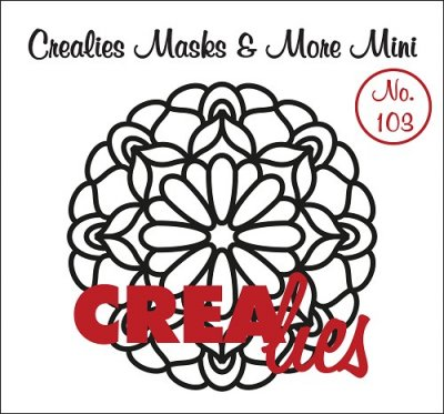 Crealies Masks & More Mini no. 103 Mandala C