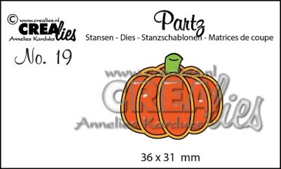 Crealies Partz no. 19 pumpkin A