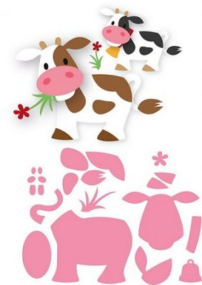 Marianne Design Collectables - Elines Cow