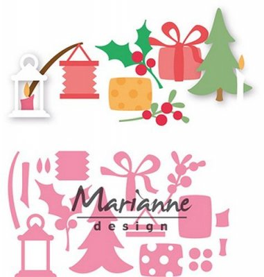 Marianne Design Collectables - Eline`s Christmas Decorations