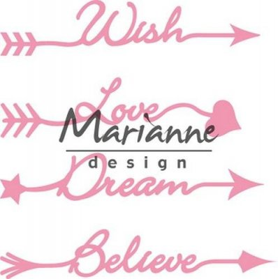 Marianne Design Collectables - Arrow Sentiments