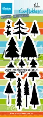 Marianne Design Craftables - Trees by Marleen