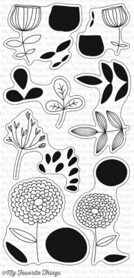 My Favorite Things Clear Stamp Set - Sketchy Flowers