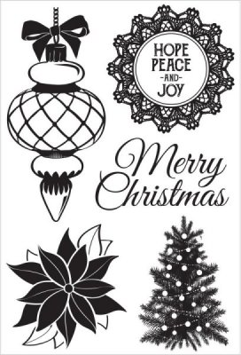 Kaisercraft - Christmas Wishes Clear Stamp Set