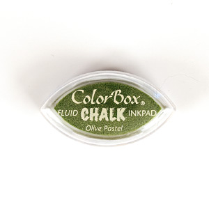COLORBOX FLUID CHALK CAT'S EYE OLIVE PASTEL