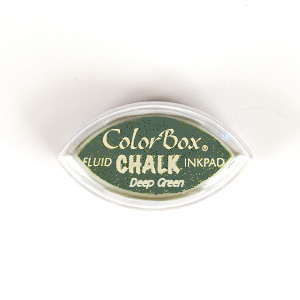 COLORBOX FLUID CHALK CAT'S EYE DEEP GREEN