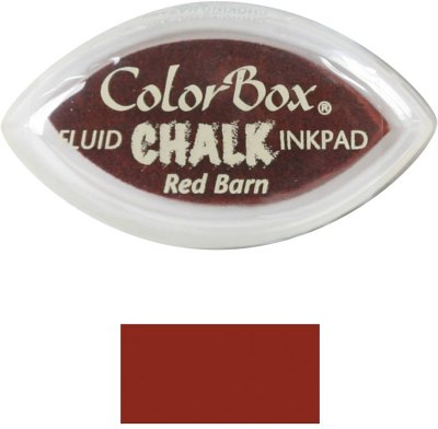 ColorBox Fluid Chalk Cat's Eye Ink Pad - Red Barn