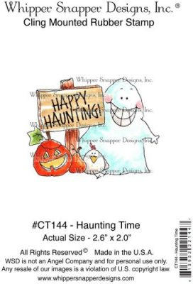 Whipper Snapper Cling Stamp - Haunting Time