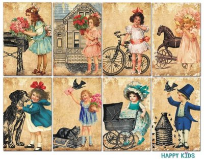 Decorer Happy Kids Paper Pack (7x10.8cm)