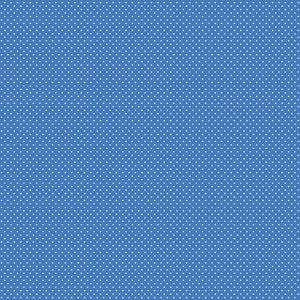 12X12 FUNDEMENTALS PAPER BLUE JEAN SWISS DOT