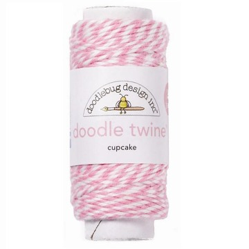 Doodle Twine - Cupcake (20 yards)