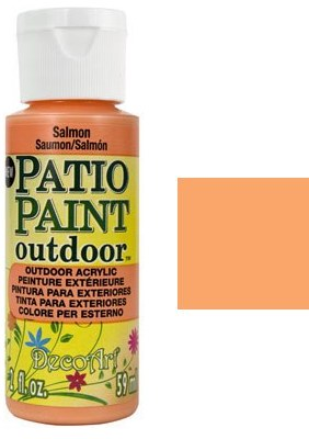 DecoArt Outdoor Patio Paint - Grey Salmon