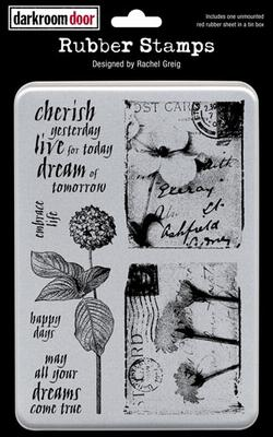 Darkroom Door Unmounted Rubber Stamp Set -  Art De Fleur Vol 2