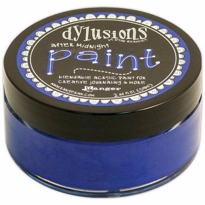 Dylusions Blendable Acrylic Paint - After Midnight  (59 ml)