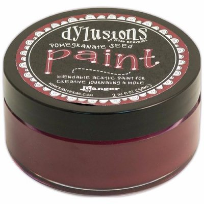 Dylusions Blendable Acrylic Paint - Pomegranate Seed (59 ml)