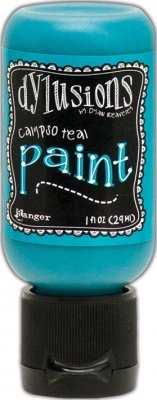 Dylusions Acrylic Paint - Calypso Teal (29 ml)