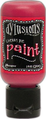 Dylusions Acrylic Paint - Cherry Pie (29 ml)