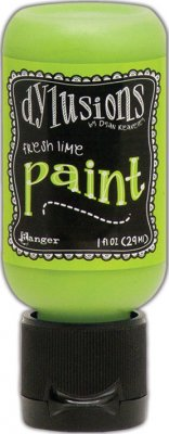Dylusions Acrylic Paint - Fresh Lime (29 ml)
