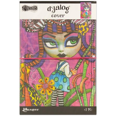 Dyan Reaveley's Dylusions Dyalog Canvas Printed Cover 5