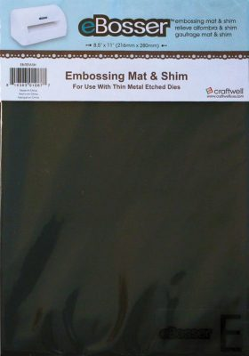 Craftwell eBosser - Embossing Mat & Magnetic Shim