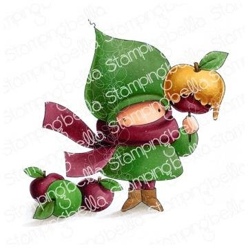 Stamping Bella Cling Stamps - Caramel Apple Bundle Girl
