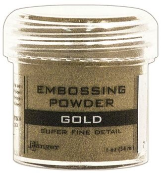 Ranger Super Fine Detail Embossing Powder - Gold