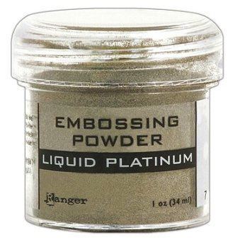 Ranger Embossing Powder - Liquid Platinum