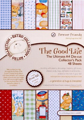 A4 ULTIMATE DECOUPAGE PACK THE GOOD LIFE (48 Pieces)