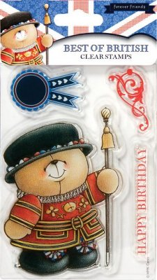 Forever Friends - Best Of British Clear Stamp Set (Beefeater)