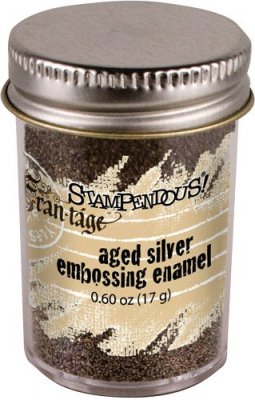 Stampendous Aged Embossing Enamel - Silver