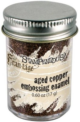 Stampendous Aged Embossing Enamel - Copper