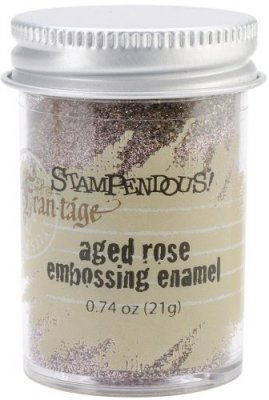 Stampendous Aged Embossing Enamel - Rose