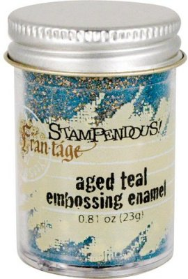 Stampendous Aged Embossing Enamel - Teal