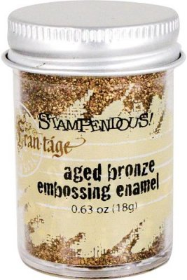 Stampendous Aged Embossing Enamel - Bronze