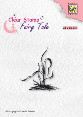 Nellie's Choice Clear Stamps silhouette Fairy Tale Nr. 28