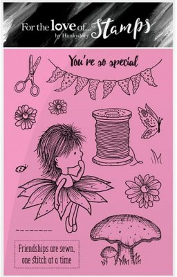 Hunkydory Clear Stamp Set - Garden Secrets, You're So Special