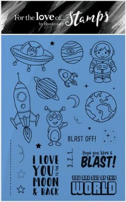 Hunkydory Clear Stamp Set - Out Of This World