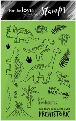 Hunkydory Clear Stamp Set - Dino Friends
