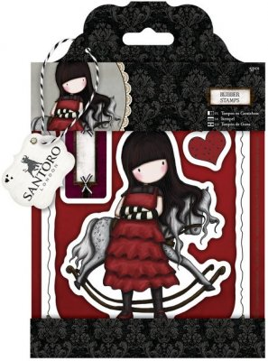 Docrafts Urban Stamp Set - Simply Gorjuss (The Getaway)