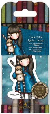 Gorjuss Mini Collectable Rubber Stamp - No. 30 Hush Little Bunny