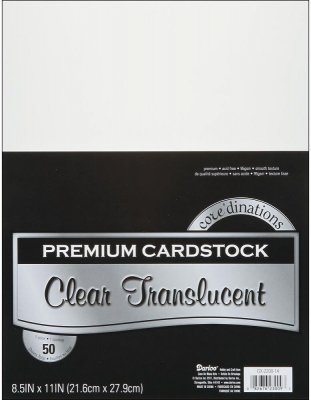 Darice Vellum Value Pack - 8.5x11 (50 sheets)