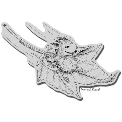Stampendous House Mouse Cling Stamp - Fall Flight