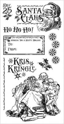 Graphic 45 - St Nicholas Cling Stamp Set #3