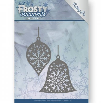 Jeanines Art Dies - Frosty Ornaments Christmas Baubles