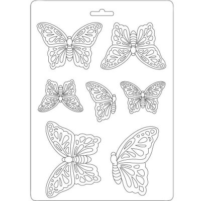 Stamperia A5 Soft Mould - Butterflies