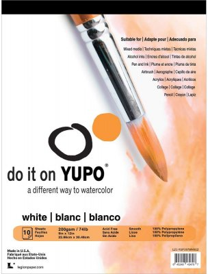 Yupo Paper - White 9x12 (10 Sheets)