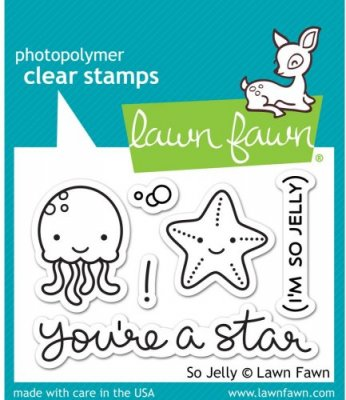 Lawn Fawn Clear Stamp Set - So Jelly