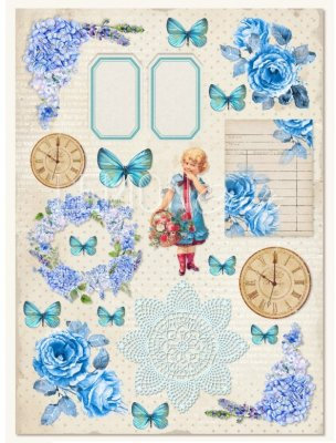 Lemoncraft A4 Paper Sheet - Vintage Time 007